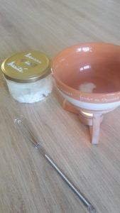 recette etape beurre karite